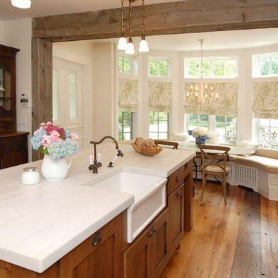 Barn House Sink : storage kitchen window treatments window kitchens apron sink farm sink ...