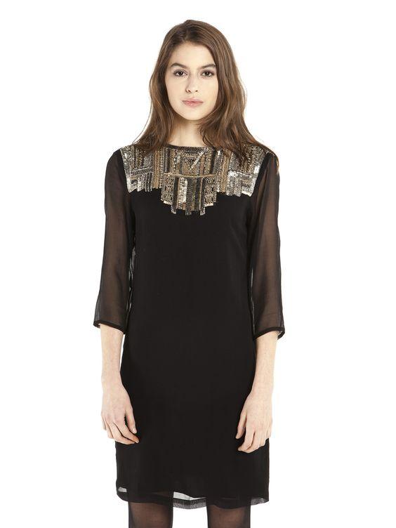 Vesuve Dress Black
