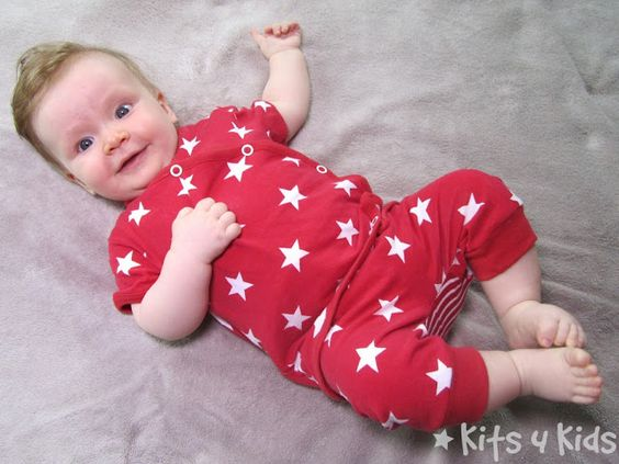 Kits 4 Kids: Simple Selbermachen Coming Home outfit Freebook