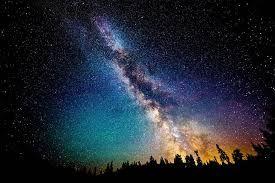 Hasil Gambar Untuk Bintang Bertaburan Di Langit Langit Pemandangan Langit Malam