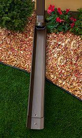 Rain Gutter Downspout Extensions Extend Rotate Extension And Tilt Up Extension From Alu Rex Elements Gutter Drainage Gutter Downspout Extension