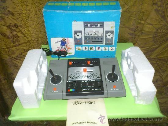 Soundic tv sports antigua consola de juegos para la tele - Television anos 70 ...