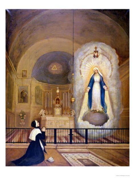 ¿Conoces la Medalla Milagrosa?: La Virgen le pide a Santa Catalina Labouré que se acuñe una medalla que traerá sus gracias a los que la lleven con confianza.