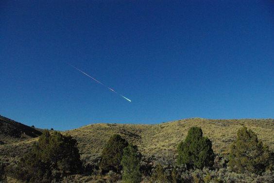 Meteor above Reno