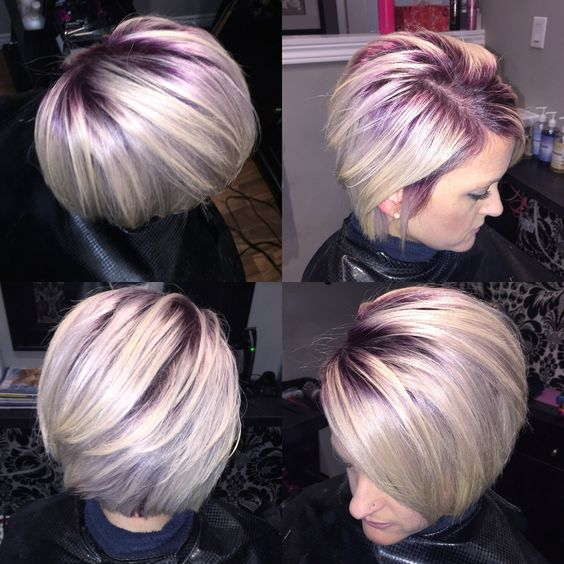 Purple Root Shadowing Hair Pinterest The O Jays