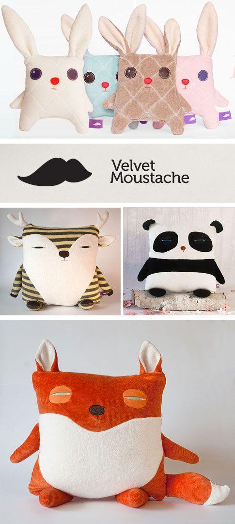 Unas ideas para hacer almohadas para los niños de animalitos