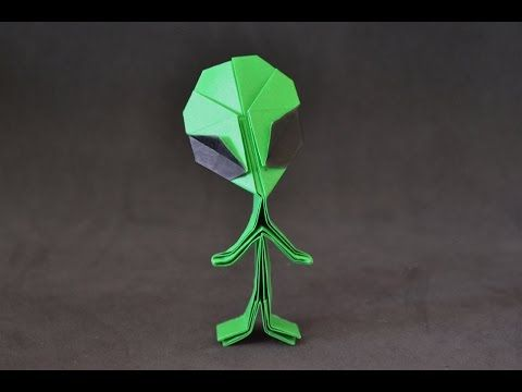 Origami: Alien ( Riki Saito ) - YouTube
