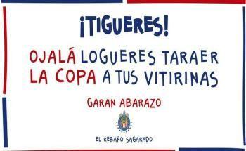 Rebaño apoya a 'Tigueres'