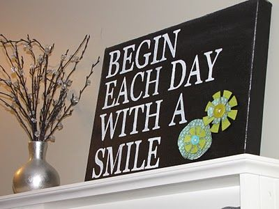 Clean & Scentsible: Canvas Sign
