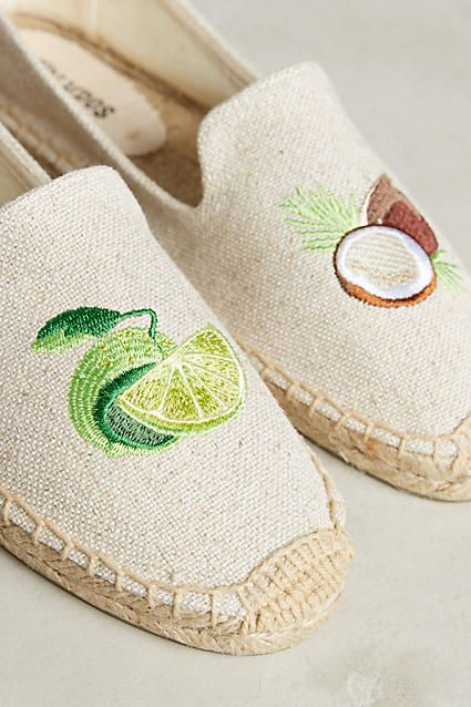 coco lime espadrilles