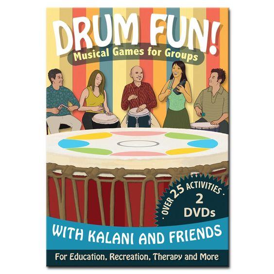 Drum Fun! 2-DVD Set by Kalani