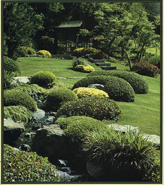 Small Japanese Garden Designs | Japanese Garden Design Plans for Small Land: Spacious Garden Green ...