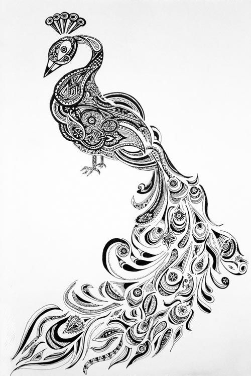 Pin By ريما القمر On Design Henna Peacock Henna Drawings Peacock Drawing