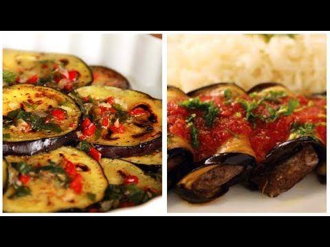 اسهل واسرع واروع الوصفات لرمضان وصفات مختلفة للباذنجان Recettes Facile Et Rapides Pour Le Ramadan Youtube Cooking Recipes Cooking Recipes