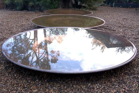 Extra Large Spun Copper Dish Copper Dishes Water Features In The Garden Aquatic Garden