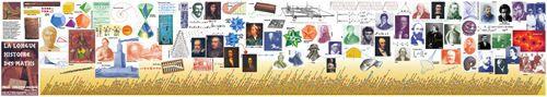 La frise chronologique de l'histoire des mathematiques