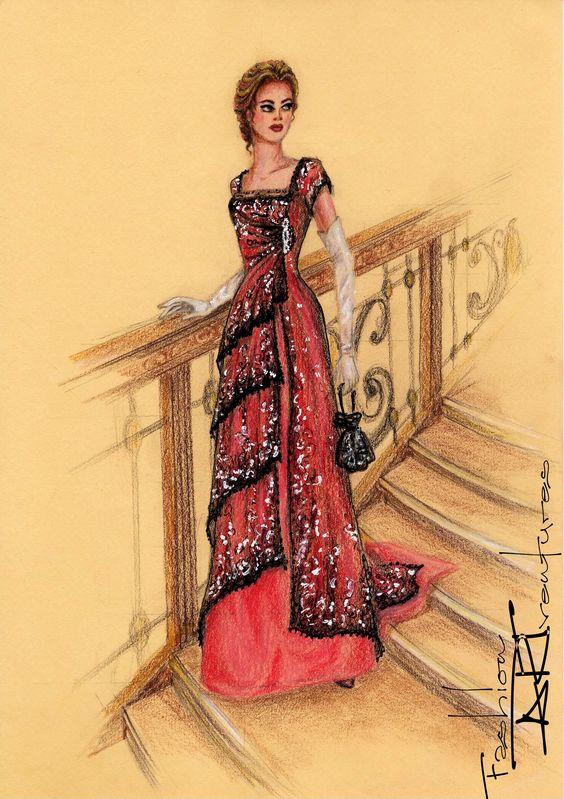 Kate Winslet's/ Rose 's Dinner Dress Titanic Tutorial