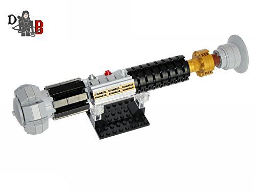 Star Wars Obi Wan Kenobi S Lightsaber From Revenge Of The Sith Made Using Lego Parts Includes 236 Genuine New Lego Pieces Me Star Wars Obi Wan Lego Lightsaber