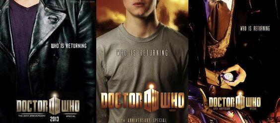 El Condensador De Fluzo: Doctor Who - 3 Posters para el 50º Aniversario de la serie: Anniversary, El Condensador, Doctor Who Poster, El 50O, De Fluzo, Of The