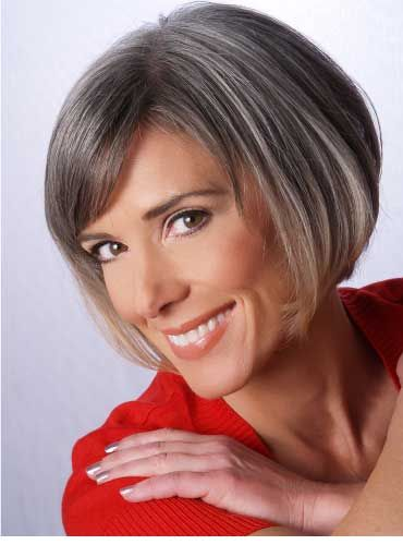 hair styles bob going gray gray and aging gracefully on 2348