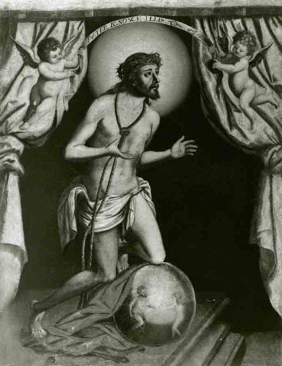 """Museo de Salamanca. """"Cristo del Perdón"""". Anónimo. Siglo XVII"""