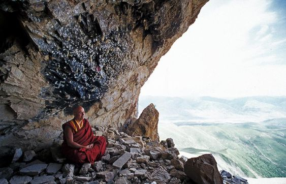 """1,918 Likes, 26 Comments - Matthieu Ricard (@matthieu_ricard) on Instagram: """"[Thought of the week]  The sound of thunder, although deafening, is harmless; The rainbow, despite…"""""""