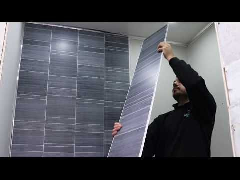 The Easy Way To Fit Bathroom Wall Panels Youtube Pvc Wall Panels Bathroom Wall Panels Bathroom Cladding