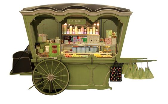 Image result for orly airport laduree cart