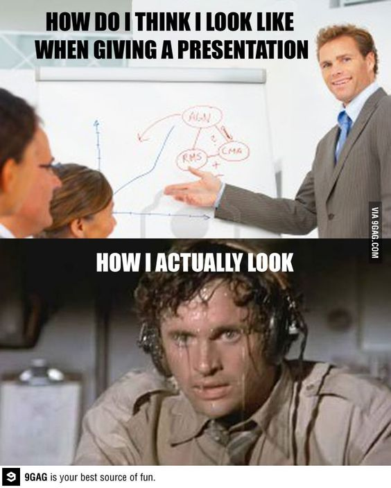 During A Presentation Or Oral Exam Exams Funny Presentation College Memes