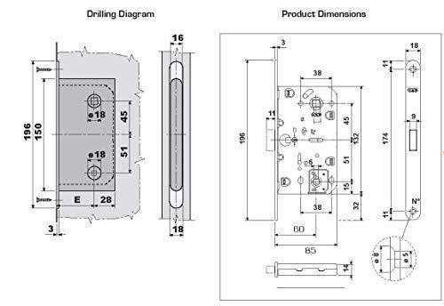 Magnetic Lock For Interior Door Agb Polaris 2xt Entry Function Agb In 2020 Doors Interior Magnetic Lock Floor Plans