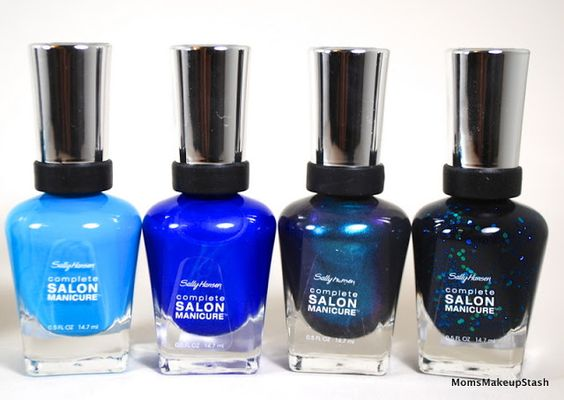 "Sally Hansen Complete Salon Manicure ""Under The Sea Shade Collection"": Sea-Worthy Shades for Spring/Summer (Photos & Swatches) - Moms Makeup..."