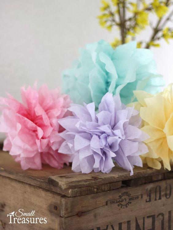 Reciclar decorar é vintage: # Flores de papel# Toturial completo# #ate amanhã#...