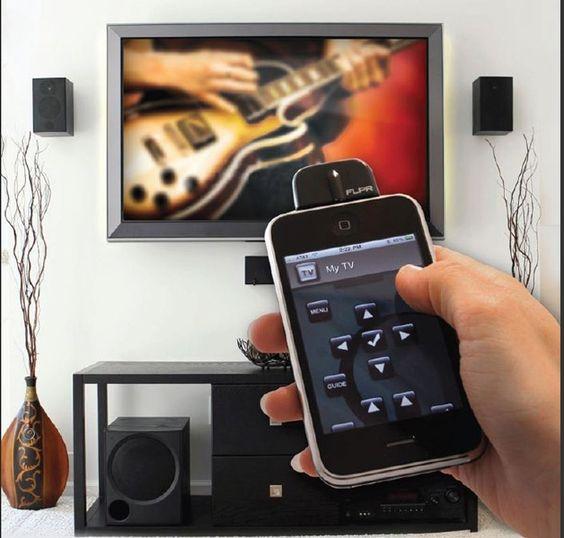 Universele afstandsbediening voor iPhone/iPod - Iphone gadgets - Luxe voor mannen - Shop - Het Luxe Leven - Pimp up your Lifestyle!