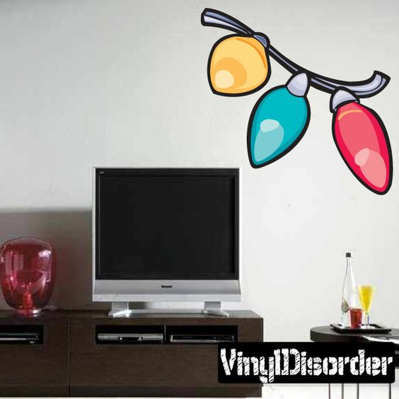 Christmas Decoration Wall Decal - Vinyl Sticker - Car Sticker - Die Cut Sticker - DC 017