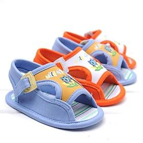 Boys' Shoes First Walkers Flat Sandals Sneakers with Magic Tape Shoes