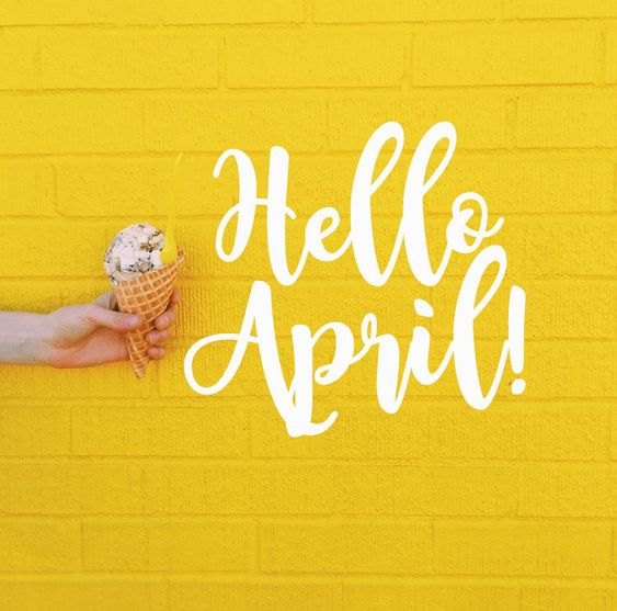Hello April  hello april april quotes welcome april hello april quotes hello april images