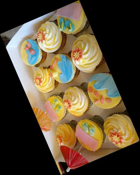 Cupcake plage