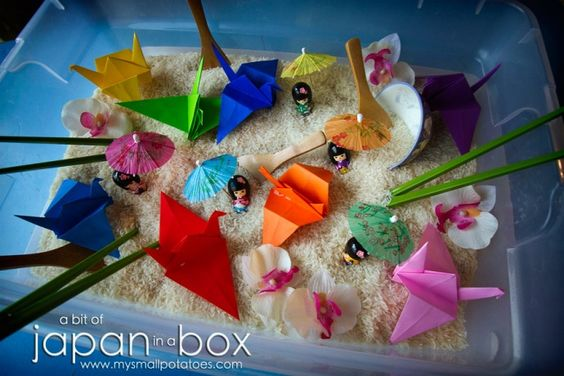 Japanese sensory box