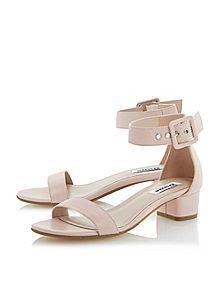 Frann two part block heel sandals