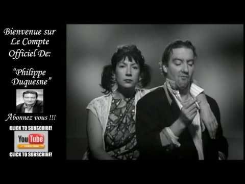 Gainsbourg et Brigitte Bardot Bonnie and Clyde by Philippe Duquesne