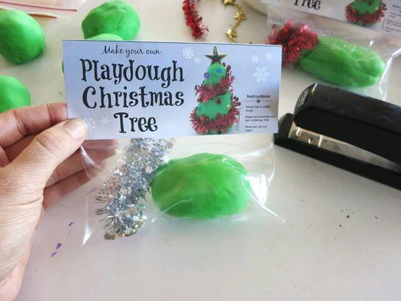 Playdough Christmas tree