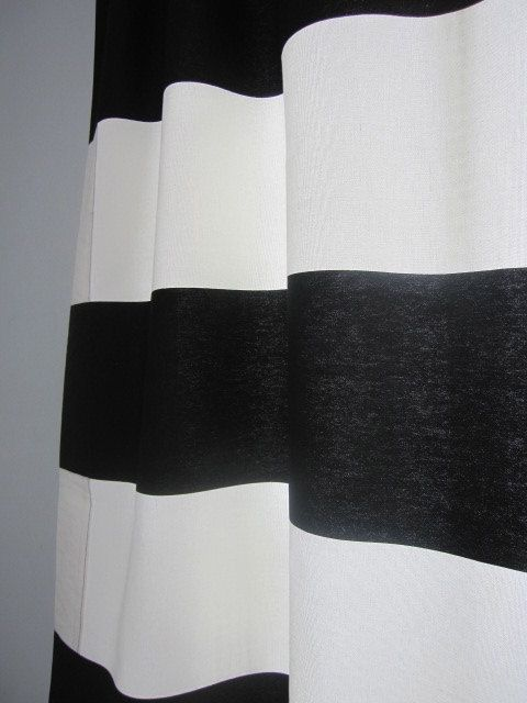 Long Curtains 94 inch long curtains : NEW...2 Curtains, Drapes, Window Curtains, Set of 2 Black and ...