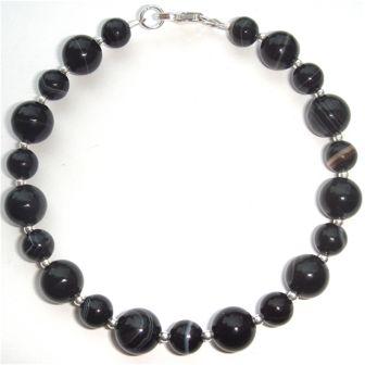 Black Sardonyx Bracelet