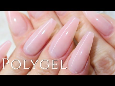 How To Simply Polygel Nails Modelones Youtube In 2020 Polygel Nails Nails Nail Art Designs Videos