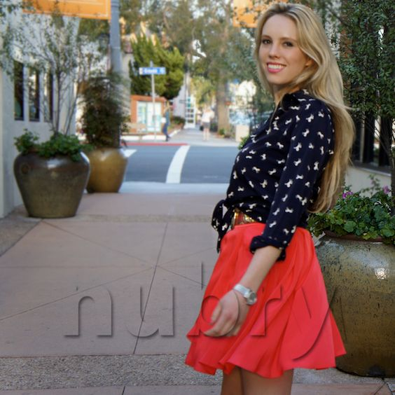 July 4th Outfit - as seen on Britt Hackmann of Nubry - red white and blue - what to wear for July 4th party