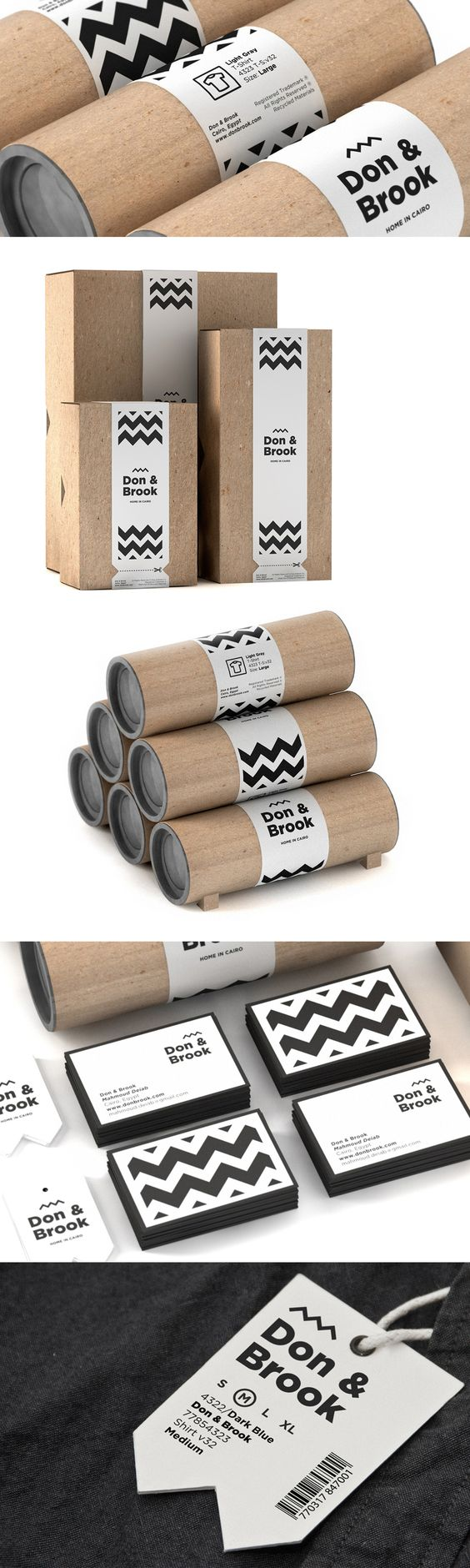 don brook packaging uses a corrugated plain box and branded sleeve
