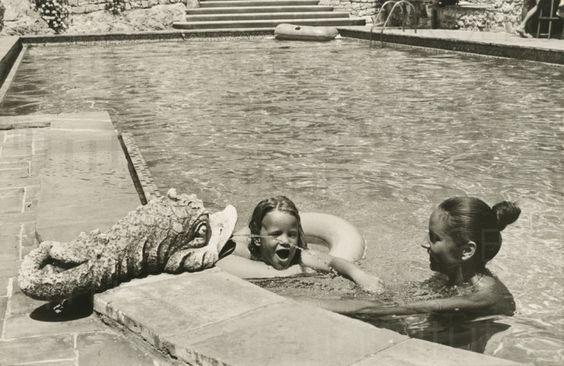 PR-Foto, Curd und Margie, St. Paul de Vence, 1976, 12