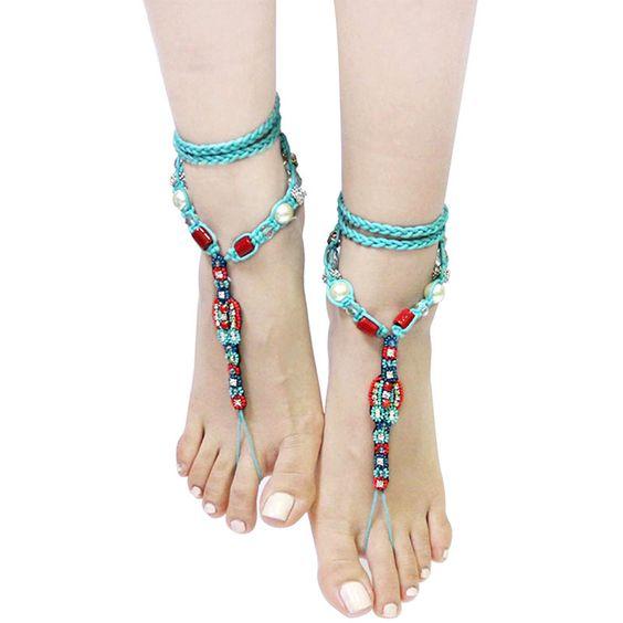 Flavor Toe Ankle Bracelet Set