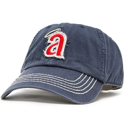 Los Angeles Angels of Anaheim Otter Cooperstown Cleanup Cap