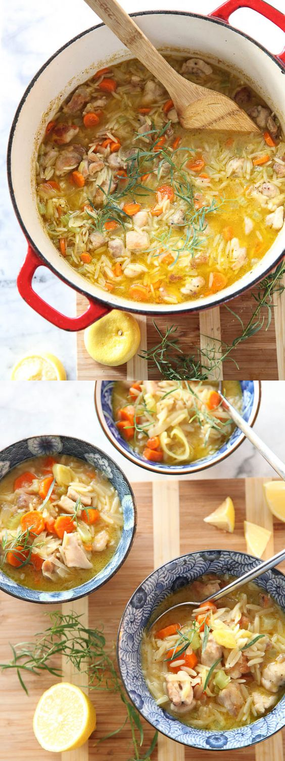 is a true one-pot meal packed with veggies, chicken and lemony orzo ...